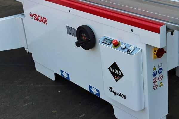 Sega circolare squadratrice MACO2L S300 in vendita - foto 2