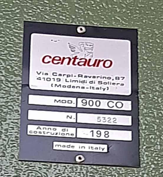 Sega a nastro Centauro CO 900 in vendita - foto 6