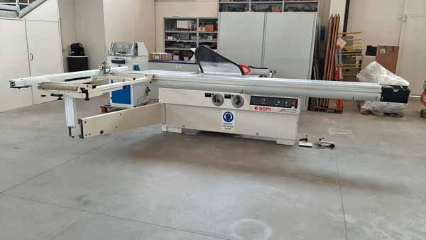Sega circolare squadratrice SCM SI 400N 3800 in vendita - foto 1