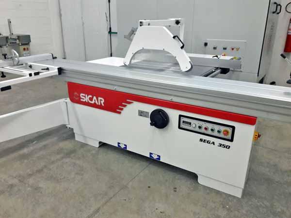 Sega circolare squadratrice MACO2L S350 in vendita - foto 2