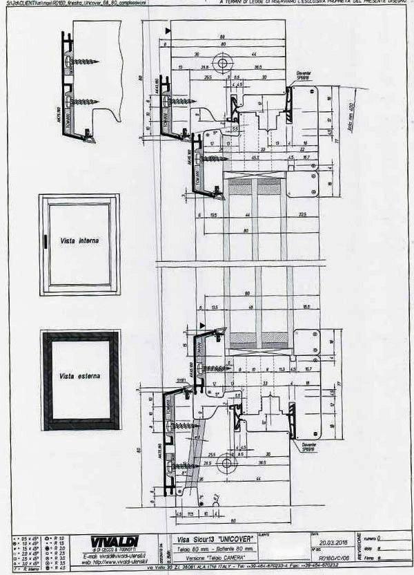 Centro di lavoro angolare per serramento Colombo AM33AF in vendita - foto 9