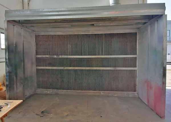 Cabina di verniciatura a secco Pacini 1S410-25 in vendita - foto 1