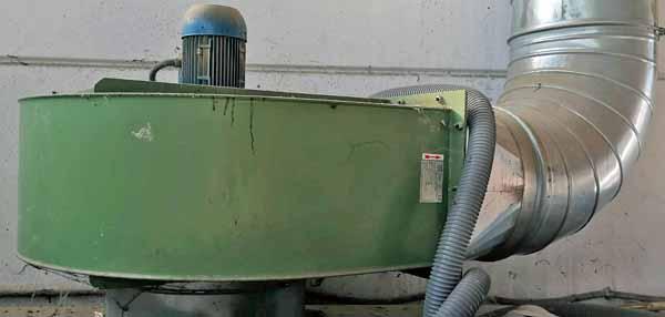 Cabina di verniciatura a secco Pacini 1S410-25 in vendita - foto 7