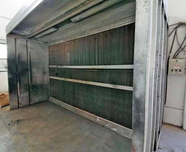 Cabina di verniciatura a secco Pacini 1S410-25 in vendita - foto 3