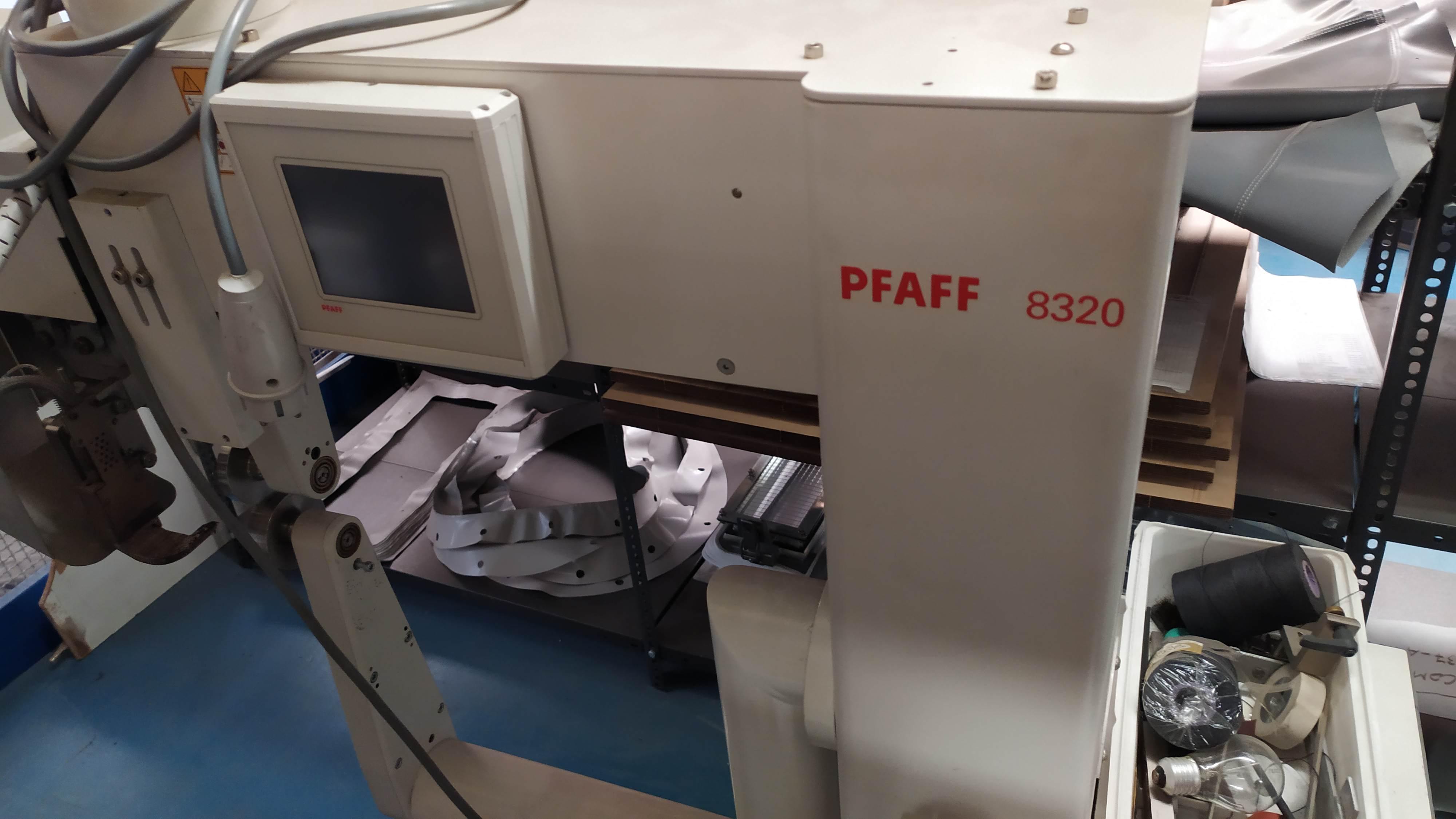 Termosaldatrice PFAFF 8320 (NUOVA) in vendita - foto 1